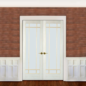 Poplar 2 Panel Arch Door While natural looking poplar adds a soft woodwork look to the room poplar is the most paintable species to work with. & AHP Poplar Doors