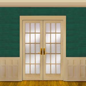 OakFrench Doors